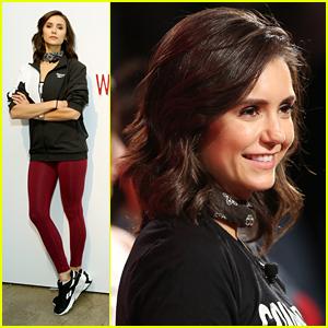 Nina Dobrev Hosts Reebok Workout Event In NYC