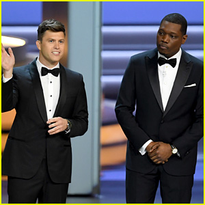 Colin Jost & Michael Che Talk #MeToo During Opening Monologue at Emmy Awards 2018 - Watch!