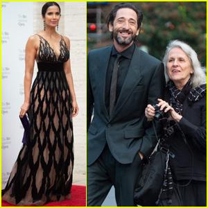 Padma Lakshmi & Adrien Brody Celebrate Metropolitan Opera Opening Night