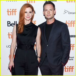 Patrick J. Adams Gets Support From 'Suits' Co-Star Sarah Rafferty at 'Clara' Premiere!