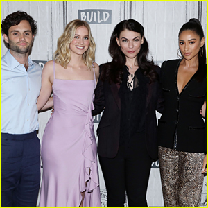 Penn Badgley, Shay Mitchell & More Promote 'You' In New York City