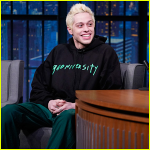 Pete Davidson Explains How He & Ariana Grande Got Their Pet Pig on 'Late Night' - Watch Here!