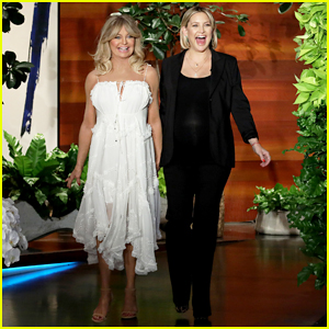 Pregnant Kate Hudson Says Her 'Water Could Go Any Second' on Ellen!