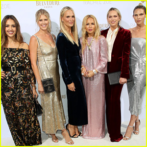 Rachel Zoe Gets Support From Jessica Alba & More Celeb Friends at L.A. Presentation!