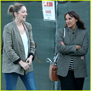 New Mom Rashida Jones Hangs Out with Friend Judy Greer