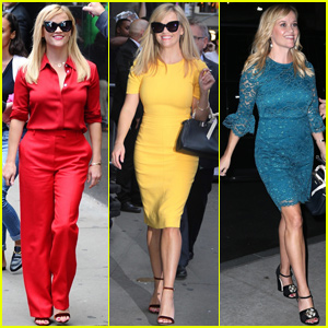 Reese Witherspoon Makes 5 Outfit Changes While Kicking Off Her Book Tour!