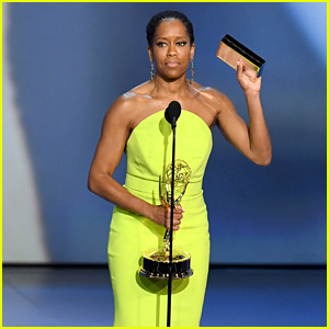 Regina King Wins Best Lead Actress in a Limited Series Or Movie at Emmy Awards 2018!