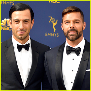 Ricky Martin Brings Husband Jwan Yosef to Emmy Awards 2018