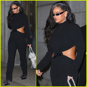 Rihanna Switches Up Her Look For Diamond Ball After-Party!