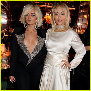 Rita Ora & Bebe Rexha Host 'Women in Harmony' Dinner in London!