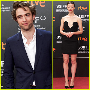 Robert Pattinson & Mia Goth Step Out for 'High Life' Premiere Amid Reports Their Exes are Dating