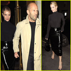 Rosie Huntington-Whiteley & Jason Statham Step Out for Date Night in London!