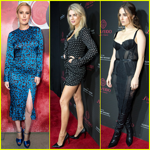 Rumer Willis, Charlotte McKinney & Banks Step Out for Shiseido Makeup Launch Party!