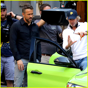 Ryan Reynolds Films an Expensive Car Chase Scene for 'Six Underground' in Italy!