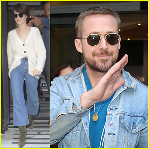 Ryan Gosling & Claire Foy Promote 'First Man' in London