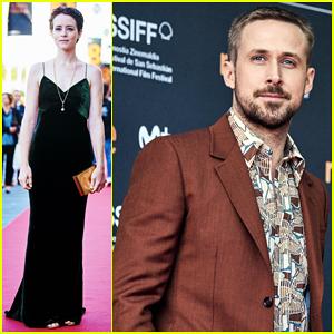 Ryan Gosling & Claire Foy Premiere 'First Man' at San Sebastian Film Festival 2018!