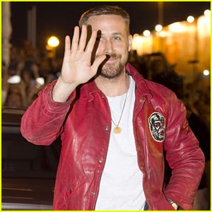 Ryan Gosling Arrives in Spain for San Sebastian Film Festival 2018!