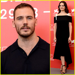 Sam Claflin Brings 'The Nightingale' to Venice with Aisling Franciosi
