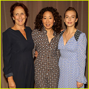 Sandra Oh Joins 'Killing Eve' Co-Stars at Special Screening in London