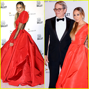 Sarah Jessica Parker & Matthew Broderick Couple Up at NYC Ballet Fall Fashion Gala 2018!