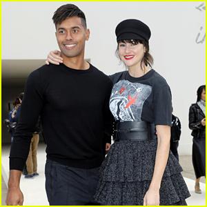 Shailene Woodley Brings Hunky Boyfriend Ben Volavola to Dior Fashion Show!