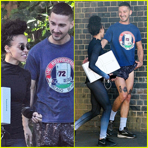 Shia LaBeouf & FKA twigs Are All Smiles on Outing After His Split From Mia Goth