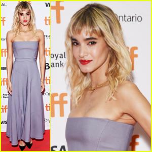 Sofia Boutella Premieres 'Climax' at Toronto Film Festival