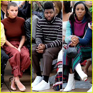 Sofia Richie, Khalid, & Kelly Rowland Sit Front Row at 3.1 Phillip Lim's NYFW Show