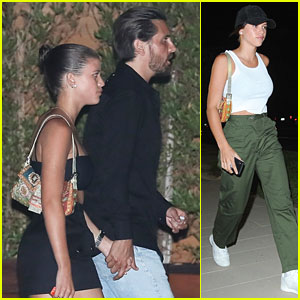 Sofia Richie & Scott Disick Have a Double Date Night