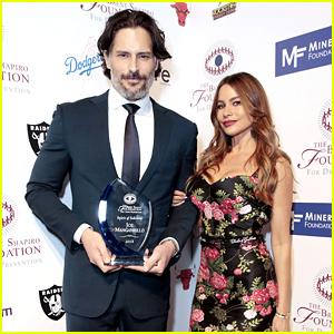 Joe Manganiello Receives Spirit of Sobriety Award with Wife Sofia Vergara's Support