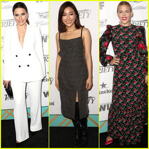 Sophia Bush, Constance Wu, & Busy Philipps Step Out for Variety & Women in Film Pre-Emmy Bash!