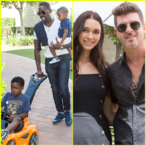 Sterling K. Brown Brings His 2 Sons to Step2's Celebrity Event!
