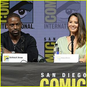 Sterling K. Brown Offers Support for 'Predator' Co-Star Olivia Munn