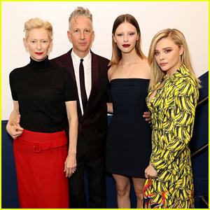 Tilda Swinton, Mia Goth & Chloe Moretz Celebrate 'Suspiria' in Paris