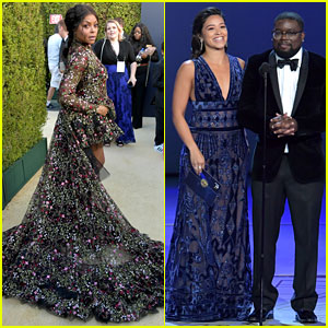 Taraji P. Henson & Gina Rodriguez Take the Stage at Emmys 2018