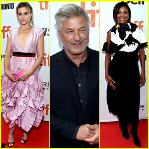 Taylor Schilling & Gabrielle Union Glam Up for 'The Public' TIFF Premiere