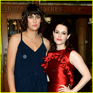 Teddy Geiger Is Dating 'Schitt's Creek' Actress Emily Hampshire
