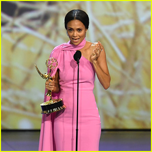 Thandie Newton Doesn't Believe in God, But Thanks 'Her' Anyways at Emmys 2018! (Video)