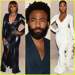 Tiffany Haddish, Donald Glover, & Normani Step Out in Style for Rihanna's Diamond Ball 2018