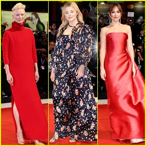 'Suspiria' Cast Attends Venice Film Festival Red Carpet Premiere