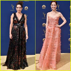 Tina Fey & Ellie Kemper Bring 'Unbreakable Kimmy Schmidt' to Emmy Awards 2018!