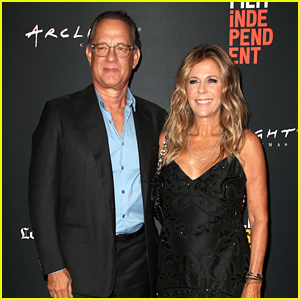 Tom Hanks Supports Wife Rita Wilson at 'Simple Wedding' Premiere!