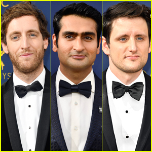 Thomas Middleditch, Kumail Nanjiani, & Zach Woods Suit Up for Emmys 2018