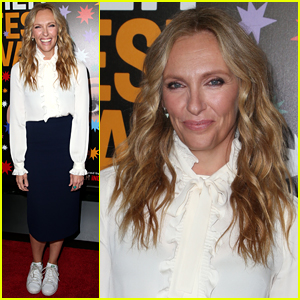 Toni Collette Ditches Heels, Wears Sneakers for Her Red Carpet Appearance!