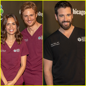 Torrey DeVitto Joins 'Chicago Med' Co-Stars Nick Gehlfuss & Colin Donnell at Press Event!