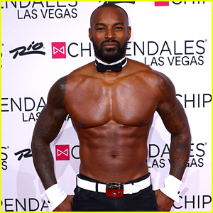 Tyson Beckford Shows Off His Buff Bod at Chippendales Las Vegas!