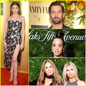 Anna Kendrick & More Celebs Stop By Vaninty Fair & Saks Fifth Avenue's Party!