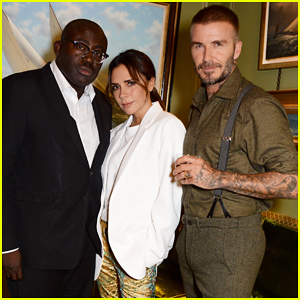 Victoria Beckham Gets Support from Hubby David at 10th Anniversary Celebration