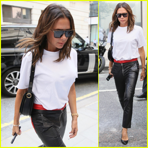Victoria Beckham Arrives at Radio 2 for Interviews in London!