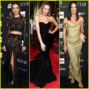Victoria's Secret Angels Stun at Harper's Bazaar Icons Event!